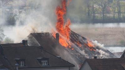 Am 24. April 2010: Der «Rebstock»-Grossbrand wütet im Städtchen – und sorgt für dramatische Szenen