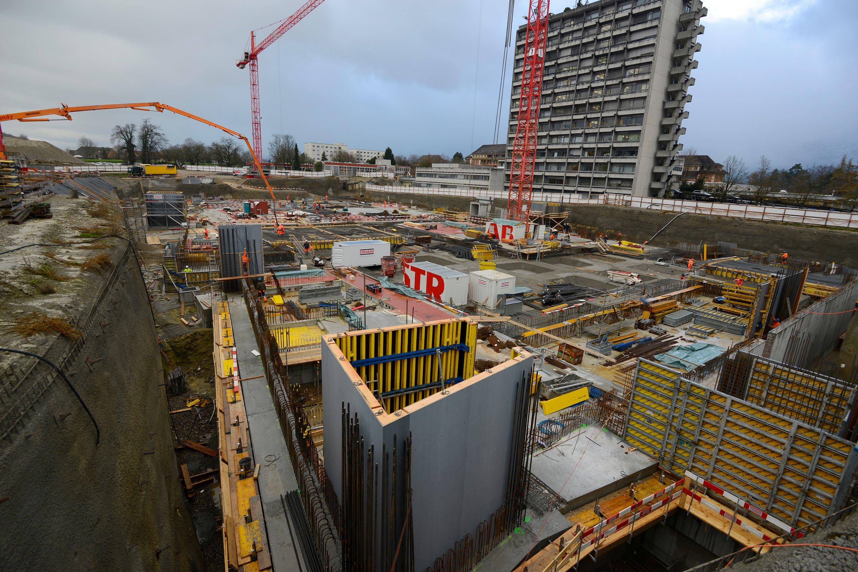 November 2015: Seit dem Baustart im April 2015 hat sich schon einiges getan.