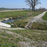 Die Querung des Büelisacherkanals in Wohlen soll als Übergang einen Betonsteg bekommen. (Toni Widmer (21.3.2020))