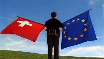 Langwierige Suche für einen Kompromiss: Bereits seit 2014 dauern die Verhandlungen zwischen der EU und der Schweiz. (Keystone)