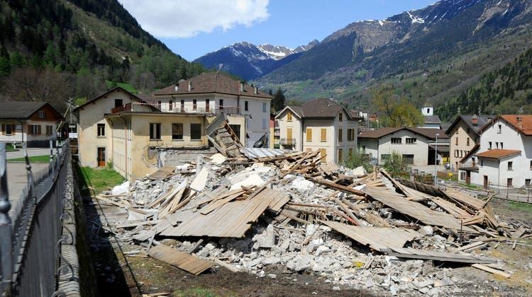 Das Parlament will für den Fall eines Erdbebens eine finanzielle Absicherung schaffen. (Symbolbild) (Keystone)