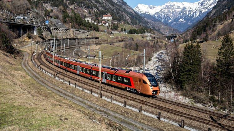 Vor sieben Jahren brachte die Südostbahn die Idee ins Spiel, die Gotthard-Bergstrecke wieder zu beleben. (Schweizerische Südostbahn)