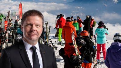Martin Bäumle plädiert für eine Schliessung der Skigebiete. (Gaetan Bally / KEYSTONE)