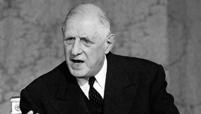 Charles de Gaulle, Amtszeit: 8. Januar 1959 – 28. April 1969 (Keystone)
