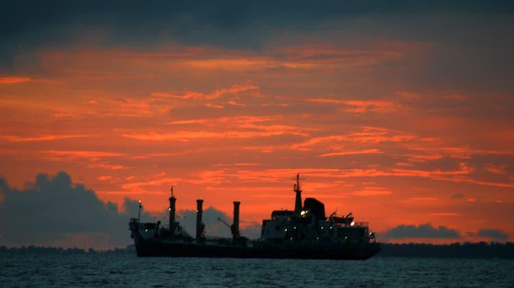 Der Öltanker unter Schweizer Flagge wird nun seit fast drei Jahren festgehalten. (Symbolbild) (Keystone)