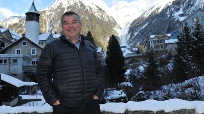 Peter Tresch freut sich auf die neue Herausforderung als Gemeindepräsident von Göschenen. (Bild: Urs Hanhart (Göschenen, 8. Januar 2021))
