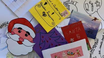 Die Schweizerische Post erhielt an Weihnachten 2020 über 34'000 Kinderbriefe für den Weihnachtsmann oder das Christkind. (Post)