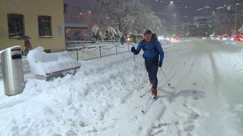 Auf Ski oder Schneeschuhen zur Arbeit: «Davon habe ich jahrelang geträumt»