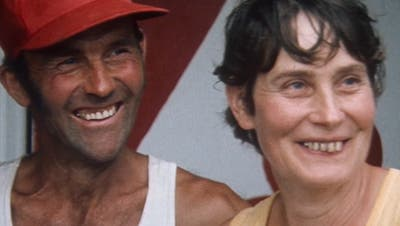 Ueli und Lotti Gerber im Sommer 1978 in Kanada. (SRF Archiv)