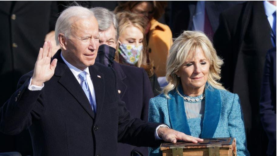Joe Biden wird zum 46. Präsident der USA vereidigt.