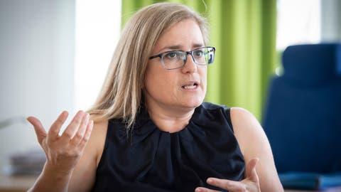 Maria Pappa (SP), die erste St.Galler Stadtpräsidentin, ist seit Beginn des Jahres im Amt. (Bild: Ralph Ribi)