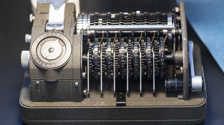 Bei der Untersuchung der Crypto AG sind klassifizierte Informationen an Medien gelangt. (Symbolbild) (Keystone)