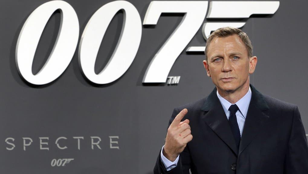 Daniel Craig spielt James Bond auch im neusten Film «Keine Zeit zu sterben.» (Archivbild) (Keystone)