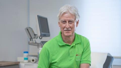 Aldo Kramis, Co-Präsident der Ärztegesellschaft des Kantons Luzern, fotografiert in seiner Praxis, dem Hausarztzentrum Gersag in Emmenbrücke. (Bild: Pius Amrein  (21. Januar 2021))