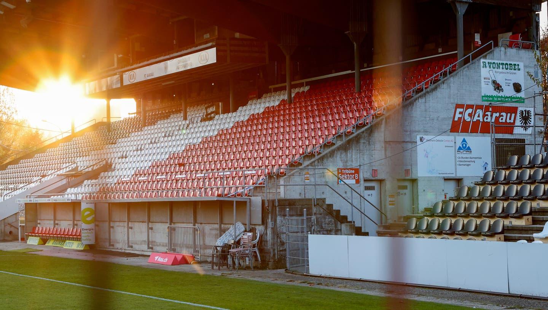 Das Stadion des FC Aarau. (Symbolbild)