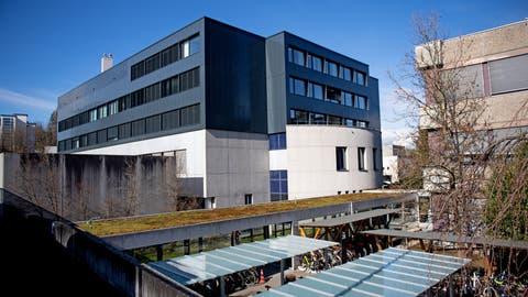 Rundgang beim neuen Tumorzentrum am Luzerner Kantonsspital.    Bild: Corinne Glanzmann (Luzern, 04. März 2020) (bild: Corinne Glanzmann / Luzerner Zeitung)
