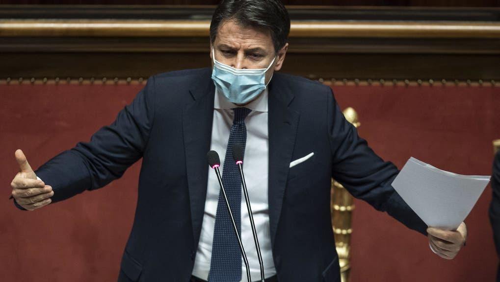 Ist nach dem Amt des Premiers für Giuseppe Conte auch vor dem Amt des Premiers? Er hofft auf einen neuen Auftrag. (Keystone)