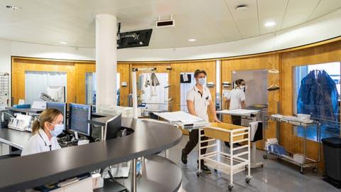 Die Intensivstation des Kantonsspitals Nidwalden. (Bild: PD)