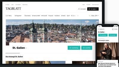Gemeindeseiten, Vereinsbeiträge, Online-Petitionen und Design: Das alles ist neu auf tagblatt.chund auf unserer App