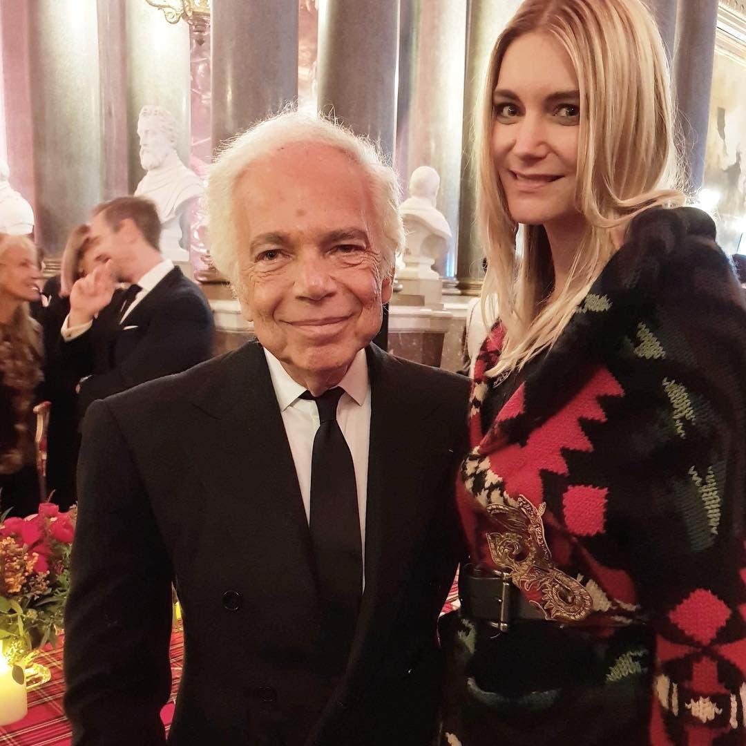 Als Model traf sie auch die High Society: Abigail Taugwalder (44) mit dem US-Modeschöpfer Ralph Lauren (81).