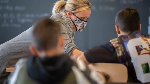 Lehrer werden nicht früher geimpft als andere Berufsgruppen. (Bild: Nadia Schaerli (Ebikon, 20. Oktober 2020))