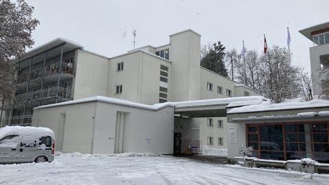 Das Wohnheim Sonnenhalde-Tandem in Rotmonten ist seit Mitte Januar wegen mehrere Covid-19-Fälle geschlossen. (Bild: PD)