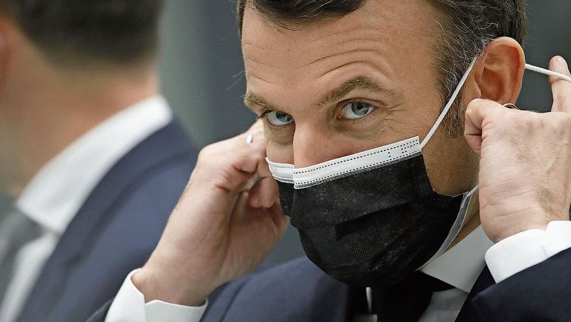SchweigsamerPräsident: Emmanuel Macron wollte sich lange nicht zum Skandal um seinen Berater äussern.