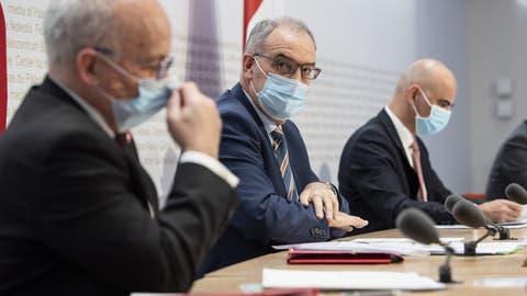 Nora Kronig, Vizedirektorin BAG und Leiterin Abteilung Internationales BAG, spricht waehrend einer Medienkonferenz zur aktuellen Situation des Coronavirus, am Dienstag, 12. Januar 2021 in Bern. (KEYSTONE/Peter Klaunzer) (Peter Klaunzer / KEYSTONE)