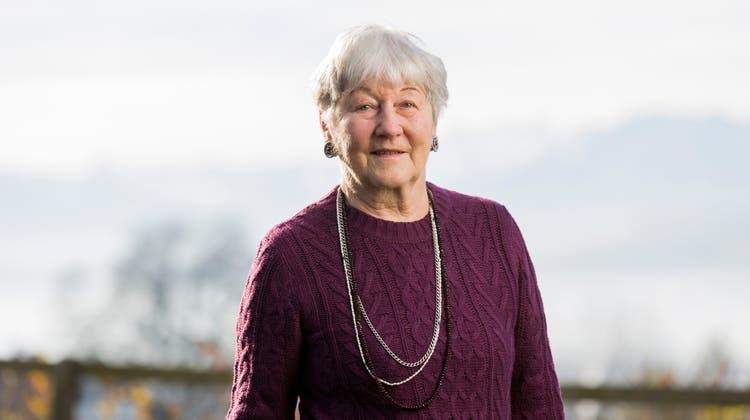 Im Zusammenhang mit dem 50-Jahr-Jubiläum des Frauenstimmrechts wird Ursula Mauch, die erste Aargauer Nationalrätin, häufig angesprochen. «Mit dem Jubiläum gab es einen Hype. Dabei sollte das eine absolute Selbstverständlichkeit sein», sagt sie. (Bild: Severin Bigler/Archiv (22.11.2017))