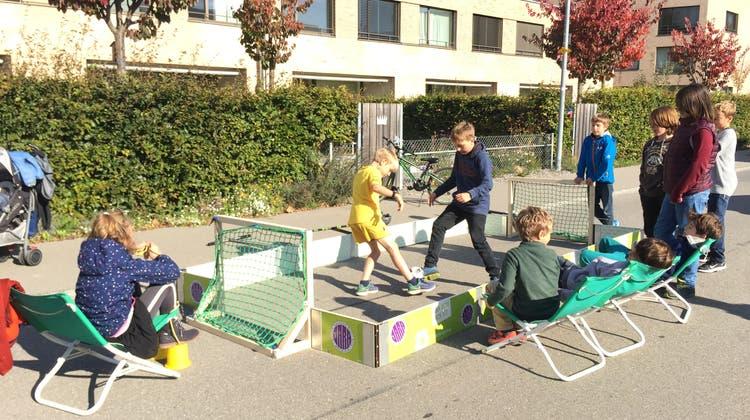 Jugendarbeit ist – wie hier in Aarau – sehr relevant. (Katja Schlegel)