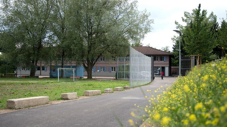 Erster Anlaufpunkt für Flüchtlinge im Kanton Zug ist die Durchgangsstation in Steinhausen. (Bild: Maria Schmid (12. Juni 2017))