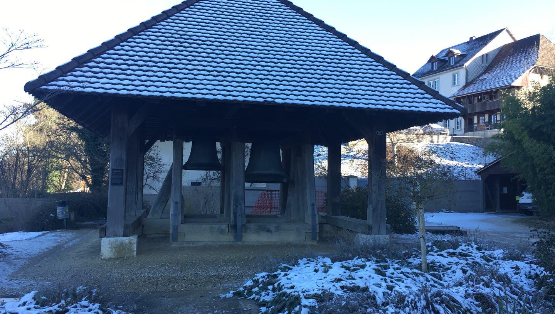 Der Glockenstuhl an der Ländtein Büren a. A. (Andreas Toggweiler)