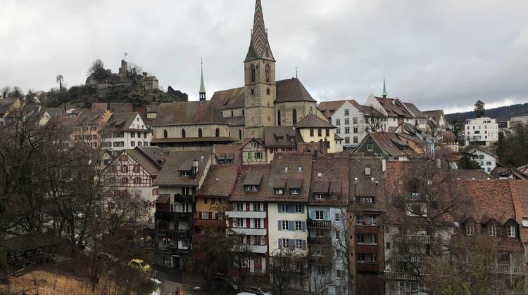 Baden auch nach dem Schnee schön (Richard Linder)