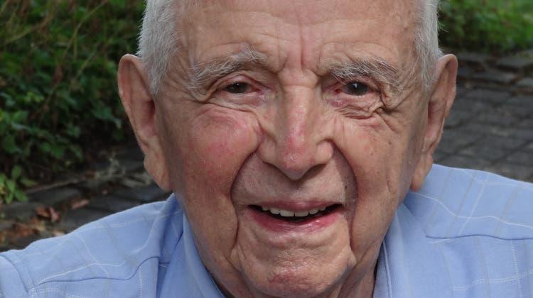 Käser Fritz, 20 Jahre Gemeindeammann von Stein, ist am 12. Januar 2021 im Alter von 95 Jahren gestorben. (zVg)