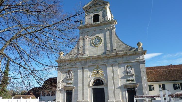 Das Wahrzeichen des Klosters Mariastein: die Basilika (zvg)