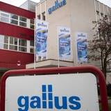 Der Gallus-Hauptsitz in St. Gallen. Vorerst wird das Traditionsunternehmen nun Teil der Heidelberger Druckmaschinen AG bleiben. (Bild: Ralph Ribi (4. Januar 2021))