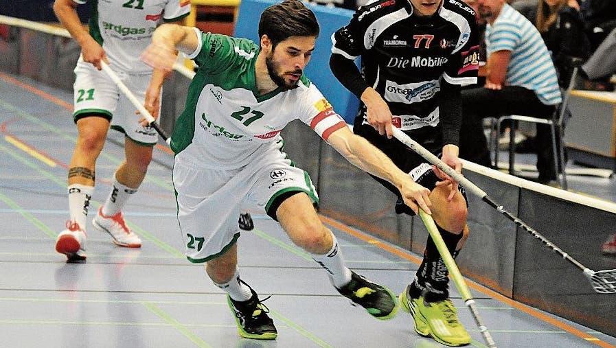 Unihockey Mittelland spielt seine Matches in der Giroud-Halle. (Bild: OT-Archiv)