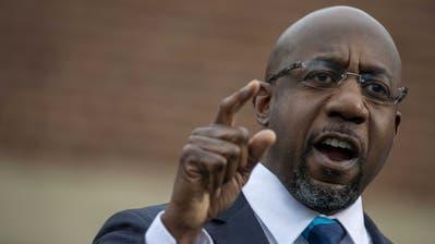 Raphael Warnock, 51, wäre der erste schwarze Senator aus Georgia. (Keystone)