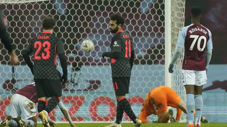 Xherdan Shaqiri (29) darf sich feiern lassen. Beim 4:1-Sieg von Liverpool liefert er gleich zwei Assists. (Keystone)
