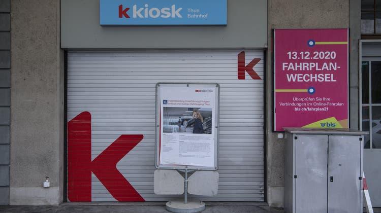 In welchem Kanton sind die Kioske geschlossen und wo nicht? (Peter Schneider / KEYSTONE)