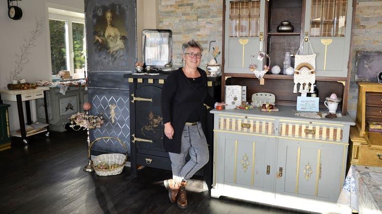 Beatrice Buss führt in Oberentfelden das GeschäftCreative Lifestyle. (Daniel Vizentini)