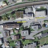 Die Bushaltestelle Altersheim in Flüelen wird behindertengerecht umgebaut und in Fahrtrichtung Nord näher zum Altersheim verschoben. (Bild: PD/Baudirektion Uri)