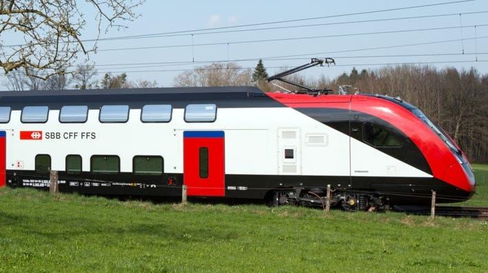 Nicht der beliebteste Zug bei vielen: Der FV-Dosto von Bombardier. (SBB)