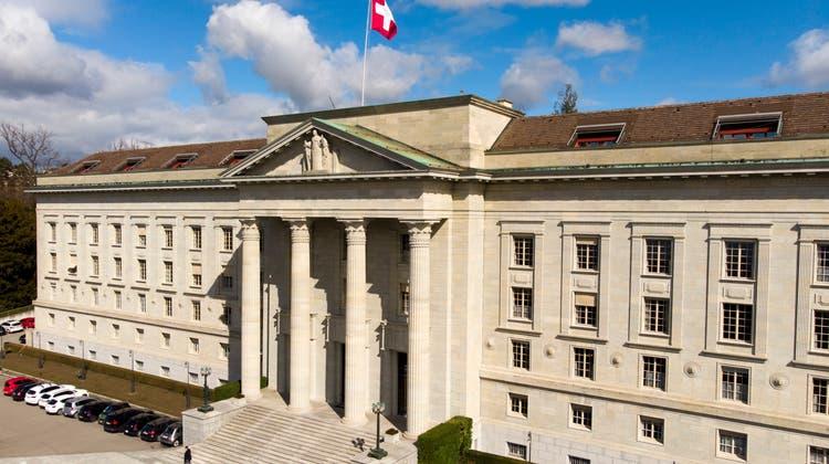 Hier blitzte der Beschwerdeführer ab: Das Bundesgericht in Lausanne. (Laurent Gillieron / KEYSTONE)