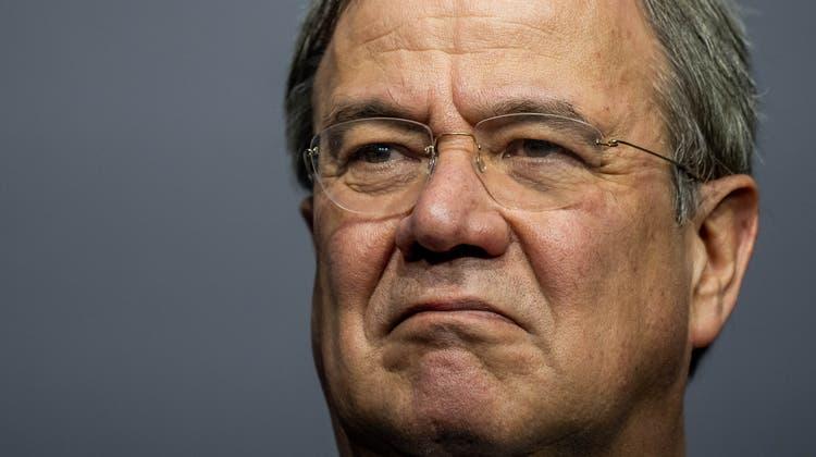 Seine Zeit an der Parteispitze läuft ab: Noch-CDU-Chef Armin Laschet. Und doch hat er immer noch die kleine Chance, als Merkel-Nachfolger ins Kanzleramt einzuziehen. (Michael Kappeler / dpa)