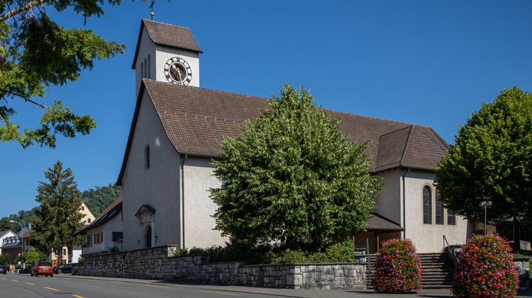 Römisch-katholische Kirche St. Mauritius in Trimbach. (Patrick Lüthy (Archiv))