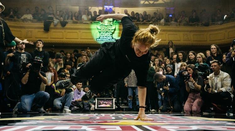 Olivia Rufer aka. Leaf aus Muri ist die beste Schweizer Breakdancerin. (Red Bull)