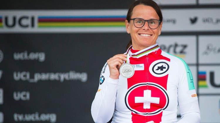 Sandra Graf, Paralympics-Star und mehrfache Sportlerin des Jahres, tritt zurück. (Bild: Daniel Streit)