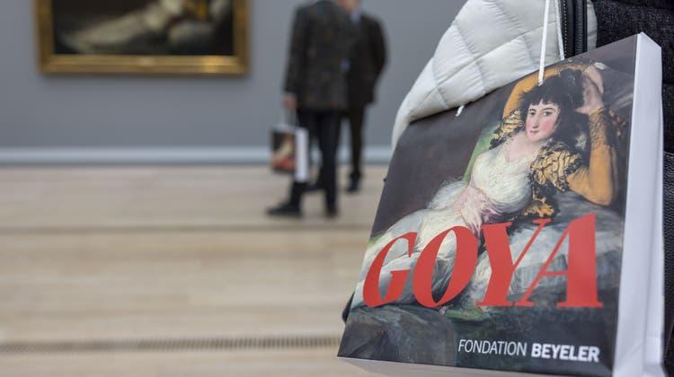 Die Ananda Foundation N.V. gehört auch zu den Gönnern für die Goya-Ausstellung. (Patrick Straub/Keystone)