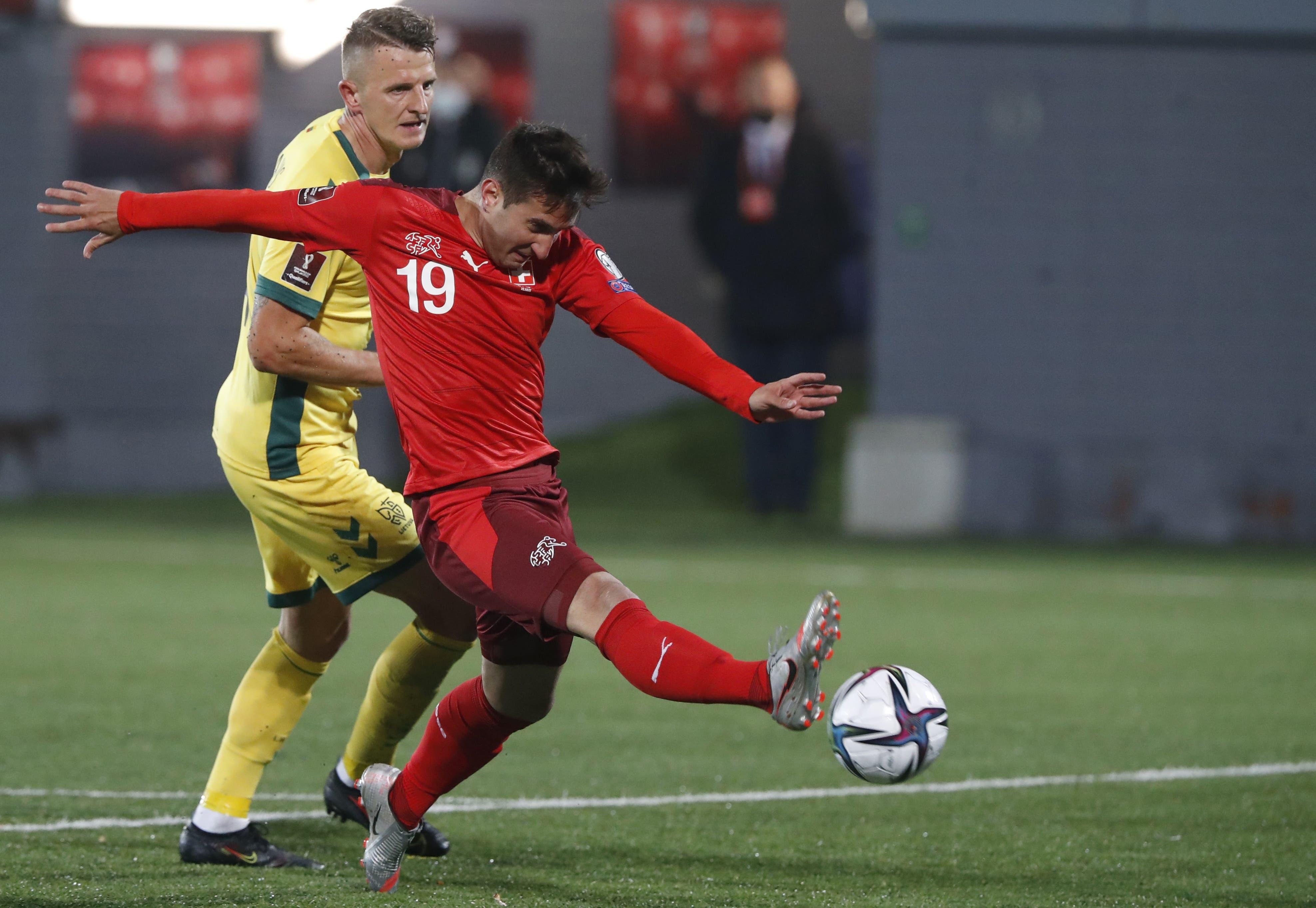 Immerhin, Mario Gavranovic trifft kurz vor Spielende noch zum 4:0.